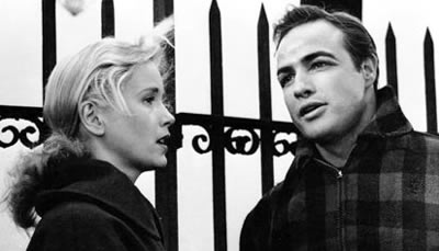 Marlon Brando and Eva Marie Saint