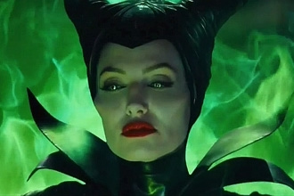 Maleficent Green Eyes